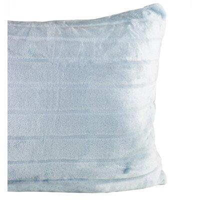 Sculpted Bliss Velvet Sham Color: Blue