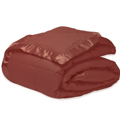 Micro Fiber Down Alternative Blanket Size: Full/Queen