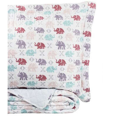 Ron Chereskin Elephant Quilt Set Size: Twin/Twin XL