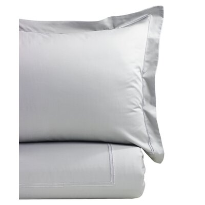Duvet Cover Set Size: King, Color: Silver