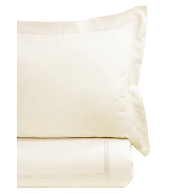 Duvet Cover Set Size: Twin, Color: Ivory