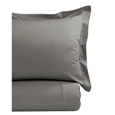 Duvet Cover Set Size: King, Color: Charcoal