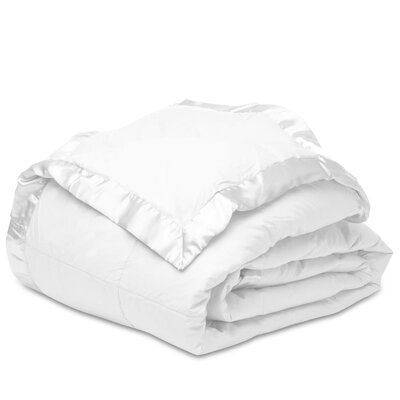 Shell Down Alternative Cotton Blanket Size: Full/Queen