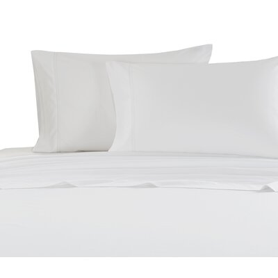 Hemstitch 1000 Thread Count Sheet Set Size: Full, Color: White