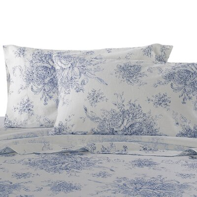 Hemstitch Pillowcase Size: King, Color: Navy