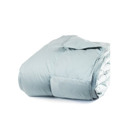 700 Fill Power All Season Down Comforter Size: King, Color: Juniper Blue