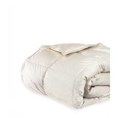 700 Fill Power All Season Down Comforter Size: Twin / Twin XL, Color: Sand Dune