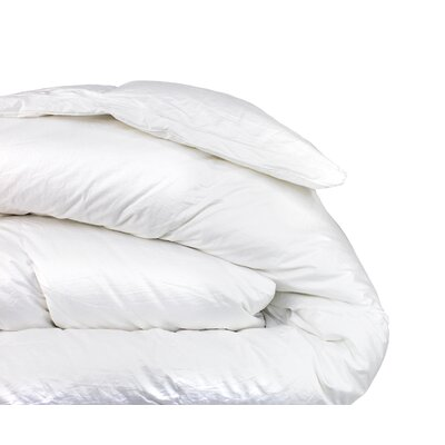 600 Fill Power 310 Thread Count Cotton Winter Weight Down Comforter Size: Full / Queen