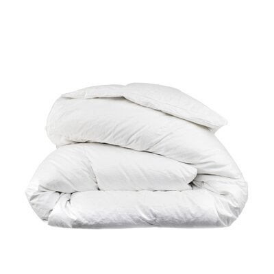 800 Fill Power 460 Thread Count Cotton Winter Weight Down Comforter Size: King