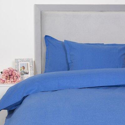 Duvet Cover Set Size: Twin, Color: Blue