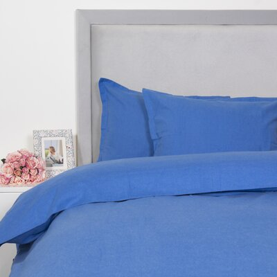 Duvet Cover Set Size: King, Color: Blue