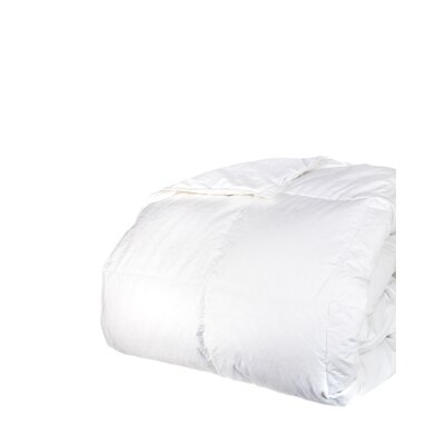700 Fill Power All Season Down Comforter Size: Full / Queen, Color: White