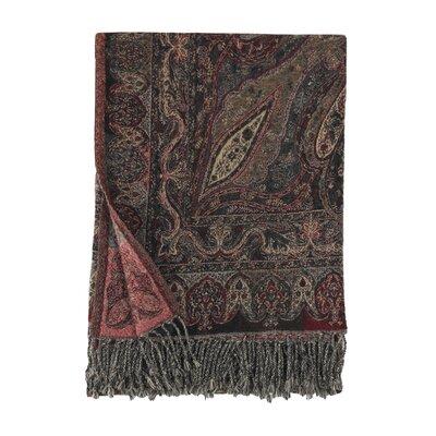 Jacquard Verona Paisley Wool Throw