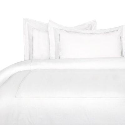 Stripe Duvet Cover Set Size: Twin, Color: White