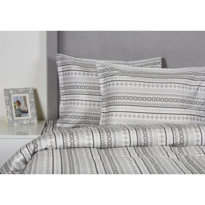 Aztec Duvet Cover Set Size: Full / Queen