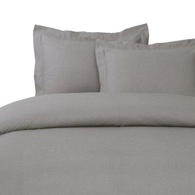 Duvet Set Size: King, Color: Stone Gray