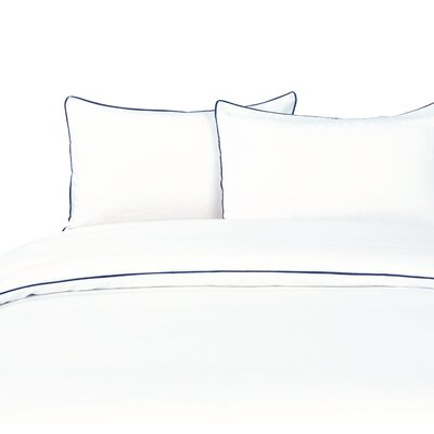 Duvet Set Color: Navy, Size: King