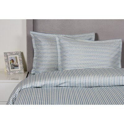 Stripe Duvet Cover Set Size: Full / Queen