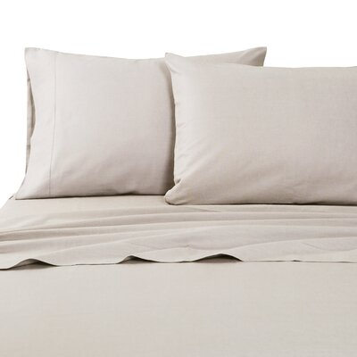 Classic Hemstitch Sheet Set Size: California King, Color: Khaki