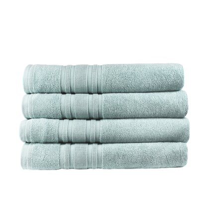 Turkish Cotton Bath Towel Color: Celestial Blue
