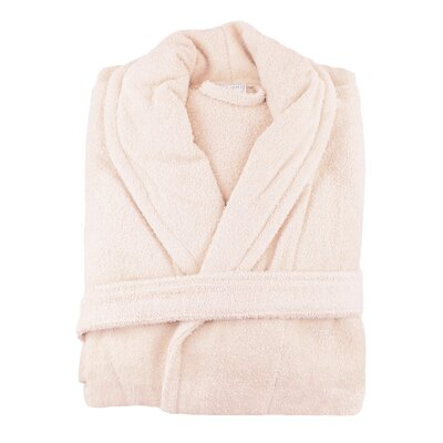 Turkish Cotton Bathrobe Color: Smokin Pink
