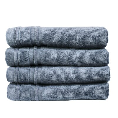 Turkish Cotton Wash Cloth Color: Slate Blue