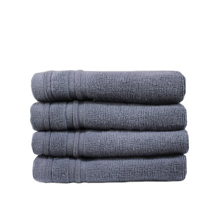 Turkish Cotton Wash Cloth Color: Anthracite Gray