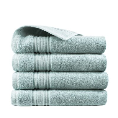 Turkish Cotton Hand Towel Color: Celestial Blue