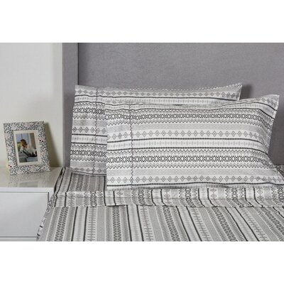 Aztec 400 Thread Count Cotton Sheet Set Size: Queen