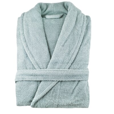 Turkish Cotton Bathrobe Color: Celestial Blue