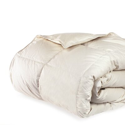 Cloud Heavyweight Down Alternative Comforter Size: King, Color: Sand Dune