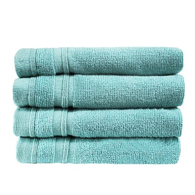 Turkish Cotton Wash Cloth Color: Reef Aqua