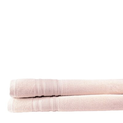 Turkish Cotton Bath Sheet Color: Smokin Pink