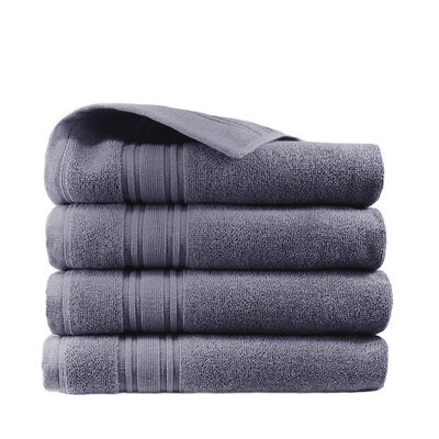 Turkish Cotton Hand Towel Color: Anthracite Gray
