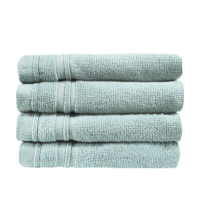 Turkish Cotton Wash Cloth Color: Celestial Blue
