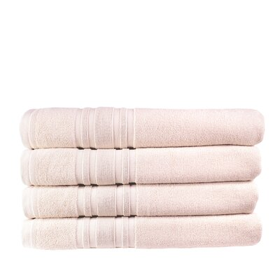 Turkish Cotton Bath Towel Color: Smokin Pink