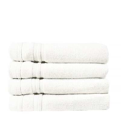 Turkish Cotton Wash Cloth Color: White