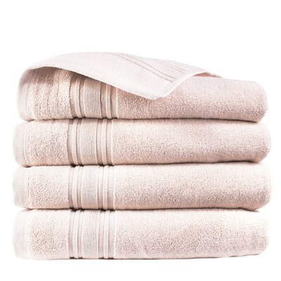 Turkish Cotton Hand Towel Color: Smokin Pink