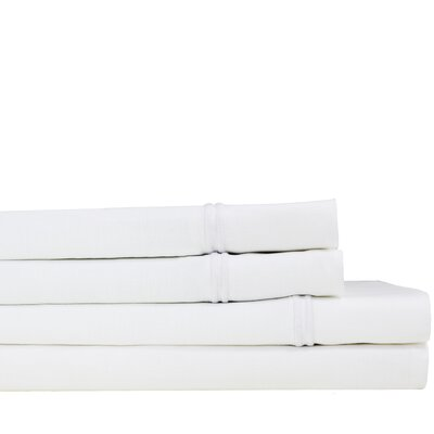 Stripe Linen Sheet Set Size: Queen