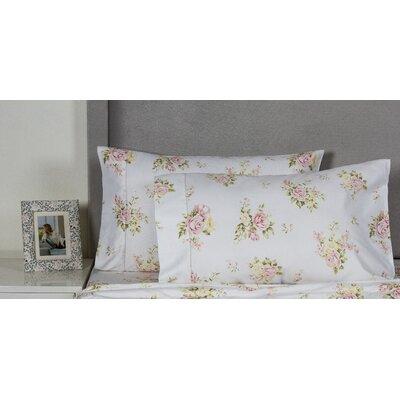 Rose Bouquet 400 Thread Count Cotton Pillowcase