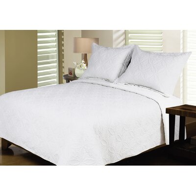 Reversible Quilt Set Size: Twin / Twin XL, Color: White