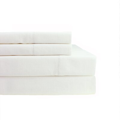 Coulombe Hems 3 Piece Sheet Set