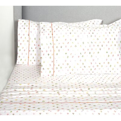 Teeple 400 Thread Count 100% Cotton Sheet Set Size: Full