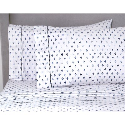Teixeira 400 Thread Count 100% Cotton Sheet Set Size: Queen