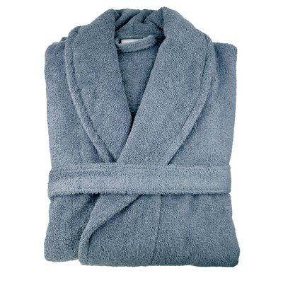 Hookton Zero Twist Bathrobe Color: Slate Blue