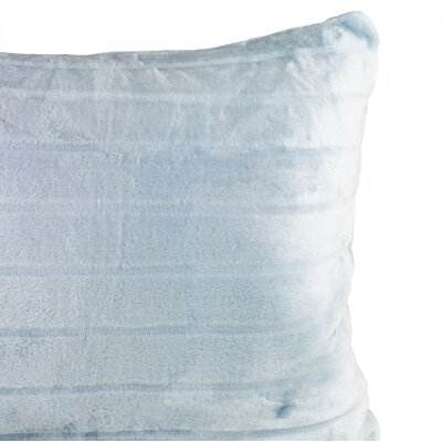 Laureano Velvet Stripe Sham Color: Blue