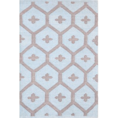 Elizabeth Blue/Brown Vintage Indoor/Outdoor Area Rug Rug Size: 8 x 10
