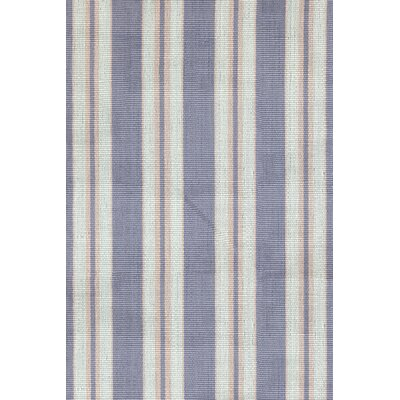 Clarence Blue / Ivory Indoor / Outdoor Area Rug Rug Size: Runner 26 x 8