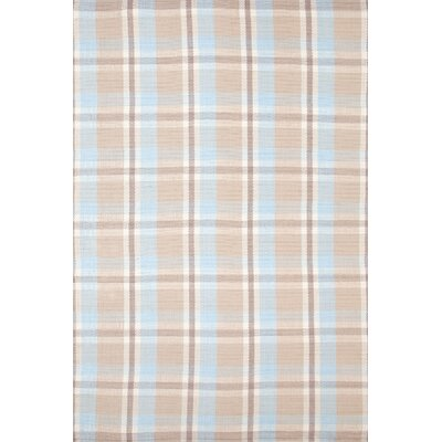 Jack Blue Plaiditude Indoor/Outdoor Rug Rug Size: Runner 26 x 8