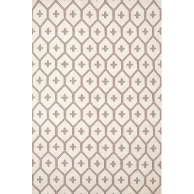 Elizabeth Brown/Tan Vintage Indoor/Outdoor Area Rug Rug Size: 3 x 5